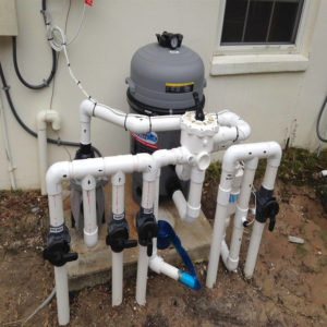Pool Draining & Plumbing Repair Image